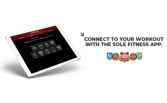 Connect to Sole Fitness App Banner