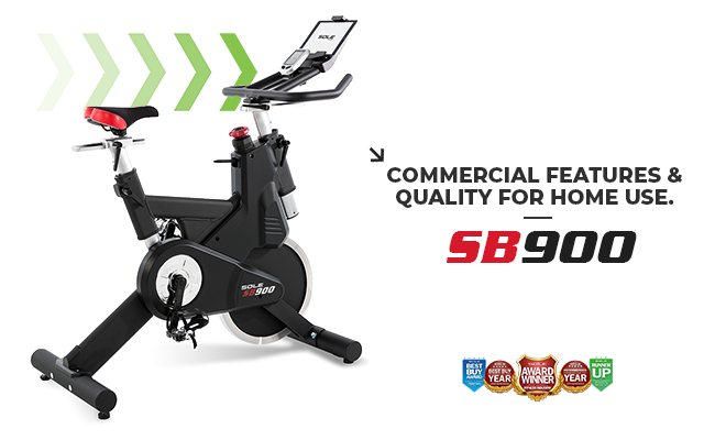 Sole Fitness SB900 Spin Bike Indoor Cycle Banner 1