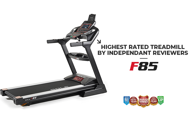 Sole Fitness f85 Treadmill Foldable Home Use Smart Treadmill Product Image Banner