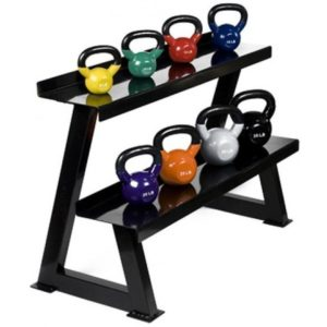 2 Tier Kettlebell Rack