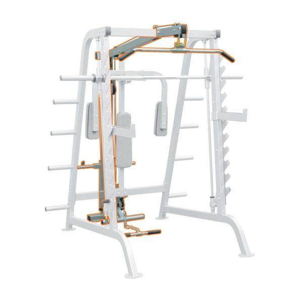 IMPULSE IFHCL Half Cage Lat Attachment