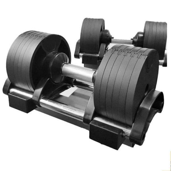 Flex Adjustable Dumbbell Pair- 2Kg to 20kg