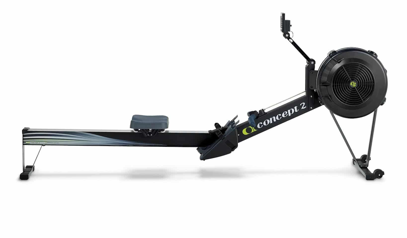 Concept2 Model D with PM5 screen banner