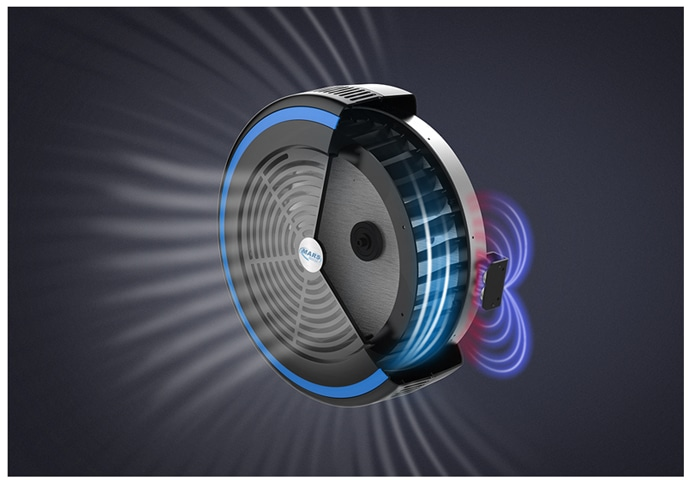 magnetic and air resistance illustration image