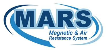 picture of magnetic air and resistance system logo called mars