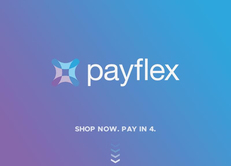 payflex logo on background for payflex payment option